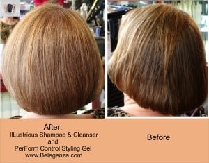 Fine Hair before after