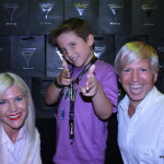 Tyler Champagne, stars in Oreo trailer for Transformers Age of Extinction with Cheryl and Alan.