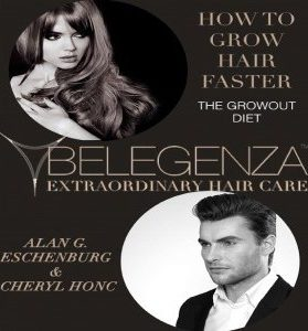 How to grow hair faster diet book Belegenza www.belegenza.com