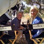 Directors' Chairs!! Cheryl and Alan on location with Rizzoli & Isles!!!